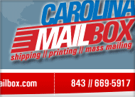 Carolina Mailbox Original Web Site Design