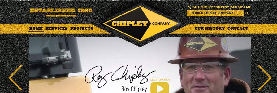 Chipley Co Redesign and Mobile Responsive Design