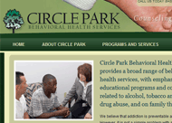 Circle Park Behavioral Health Services Web Site Design
