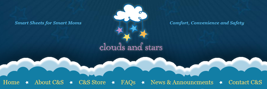 Clouds and Stars Web Site Design