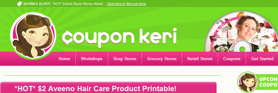 Coupon Keri Web Site Design and Development