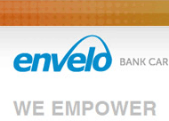 Envelo Bank Card Services Worldwide Web Site Design