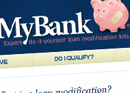 FixMyBank Web Site Design