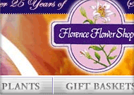 Florence Flower Shop Web Site Design