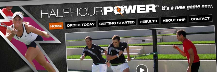 Half Hour Power Web Site Design and Shopping Cart