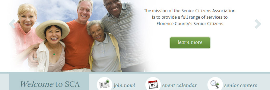 Senior Citizens Association Site Design