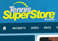 Tennis Superstore Web Site Design