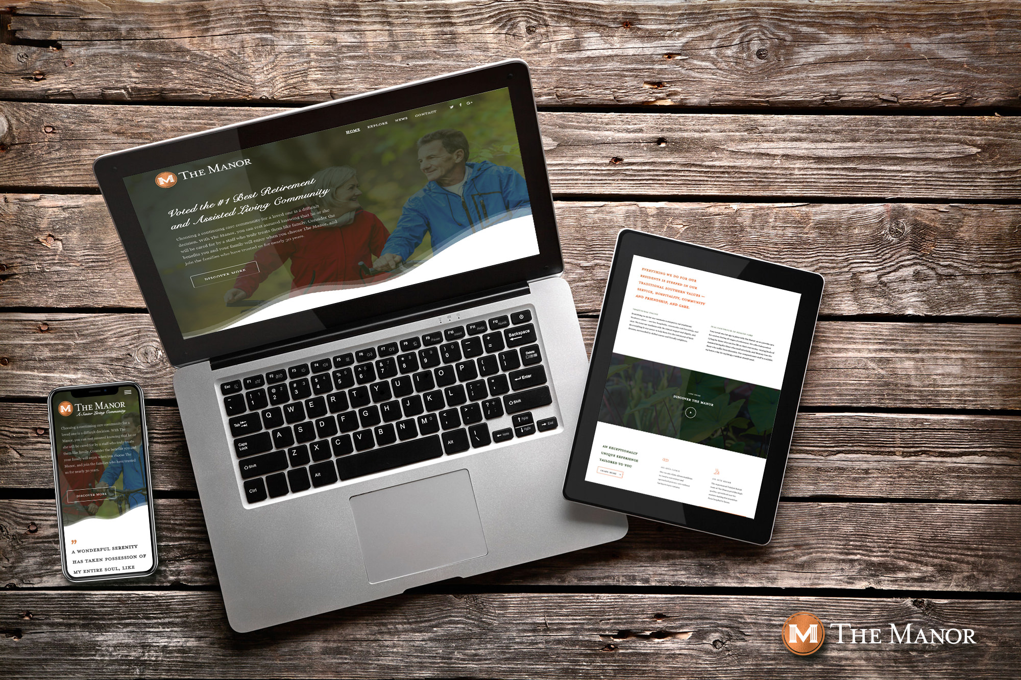 The Manor Responsive Layout and Web Programming