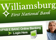 Williamsburg First National Bank Web Site Design & CSS