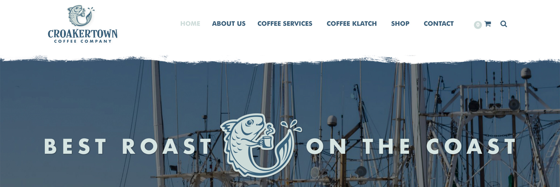 Croakertown Coffee Company Online Store, Responsive Layout and Web Programming